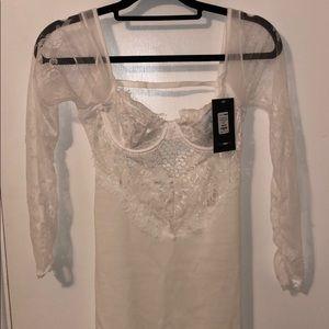 Fashion nova lace bodycon dress